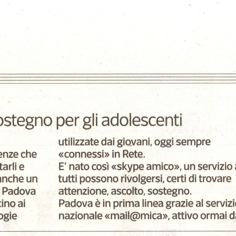 Corriere del Veneto - 1 novembre 2015