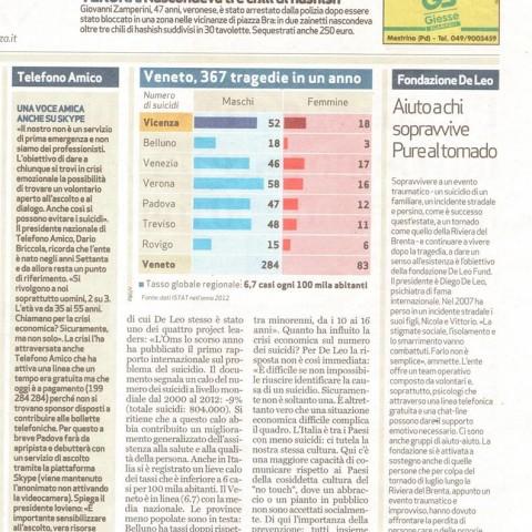 Giornale di Vicenza - 8 settembre 2015 (parte 2)