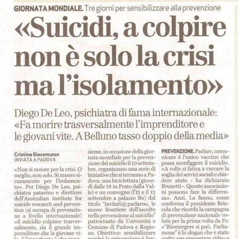 Giornale di Vicenza - 8 Settembre 2015 (parte 1)