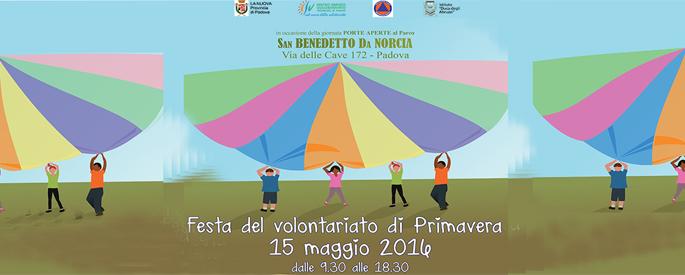Festa del Volontariato di Primavera 2016