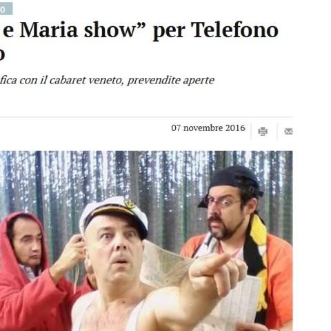 Il Mattino di Padova - 7 Novembre 2016