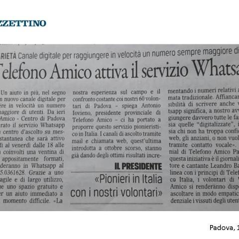 Gazzettino 11.05.2017