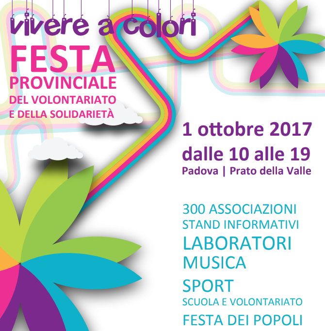 Vivere a colori – Festa del Volontariato 2017