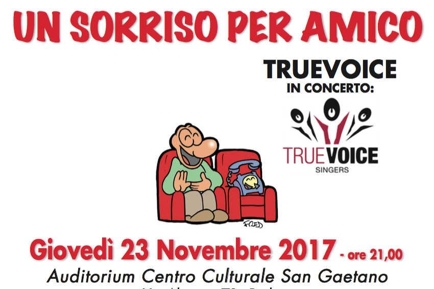 """""""Un Sorriso per Amico"""" 2017 – spettacolo raccolta fondi"""